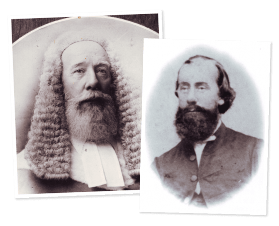 Sir Charles Lilley. Images courtesy of John Oxley Library, State Library of Queensland, Brisbane.