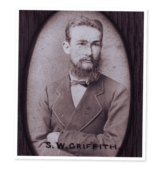 Sir Samuel Walter Griffith. Image courtesy of John Oxley Library, State Library of Queensland, Brisbane.